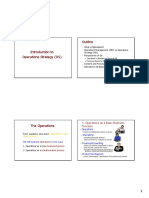 01. Introduction to Ops Strategy