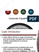 Cask Technologies Capabilities Brief Europe (Q3 2010)