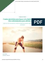 Cuatro ejercicios para hacer si te duelen las rodillas (y tres estiramientos para aliviar el dolor) _ BuenaVida _ EL PAÍS