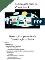 Técnicas de Comunicação 2