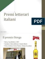 premi letterari italiani