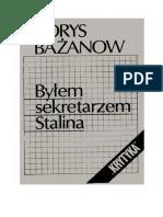 Bażanow B. - Byłem sekretarzem Stalina.pdf