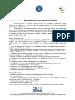 Activitatea 3.3 Plan de acțiune pentru integrarea copiilor cu dizabilități