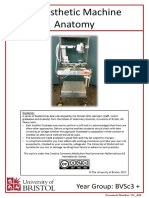 Anaesthetic Machine Anatomy