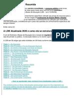 LDB Atualizada 2020 Resumida