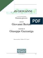 Gazzaniga - Don Giovanni