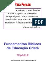 TEOLOGIA DA EDUCAÇÃO CRISTÃ.cap 2