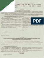 Ordin Al Ministrului Administratiei Si Internelor Privind Abrogarea Unor Acte Normative