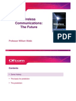William Webb - Wireless Communications - The Future - Note That This is William Webbs Personal View-1