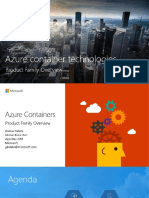 Azure Containers - Gustav Kaleta