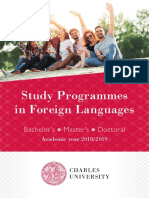 phd charles universities