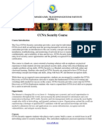 OUTLINE Ccna Security