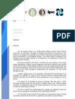 Webinar Invitation Letter