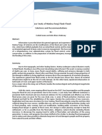 case study on flood
