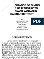 THE IMPORTANCE OF GIVING PROPER HEALTHCARE TO