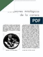 Aquiles, mercurio, mitología corredores