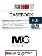 Chicago Booth Casebook Consulting Case Interview Book芝加哥大学布斯商学院咨询案例面试