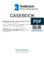 UCLA Anderson Casebook Consulting Case Interview Book 2016_2017加州大学洛杉矶安德森商学院管理学院咨询案例面试