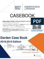 Virgina Darden Casebook Consulting Case Interview Book 2018_2019弗吉尼亚大学达顿商学院咨询案例面试