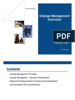 Change Management- Overview