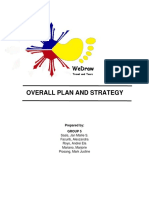 Overall Plan and Strategy