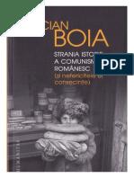 Lucian Boia - Strania Istorie a Comunismului Romanesc
