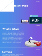 What is GSM? Knowing thick and thin papers