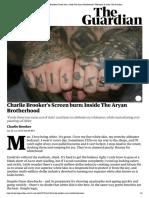 charlie brookers screen burn  inside the aryan brotherhood   television   radio   the guardian