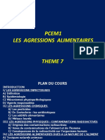 AGRESSIONS ALIMENTAIRES