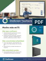 OneScreen-Touchscreen-t5-65-Educacion