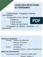 Epidemiologie Des Infections Bacteriennes