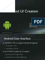 Developing With Android Ui
