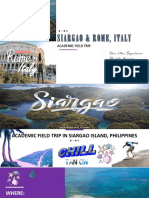 Siargao and rome, Italy.pptx