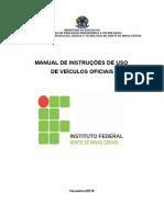 Manual de Uso de Veículos Oficiais