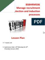 BSBHRM506 PowerPoint Slides