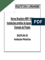 IH-10aula - Instalações prediais de águas pluviais