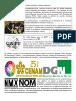 ¿Quién controla la calidad en México?