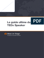 ideas on stage guide ultime tedx speaker fr