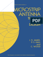 [IEE ELECTROMAGNETIC WAVES SERIES 12] David M. Pozar, Daniel H. Schaubert - Microstrip Antennas_ The Analysis and Design of Microstrip Antennas and Arrays (1995, Wiley-IEEE Press).pdf