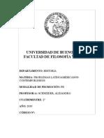 PROBLEMAS LATINOAMERICANOS CONTEMPORÁNEOS (SCHNEIDER) - 2C 2019.pdf