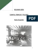 Resumen Campon Talleres y Fabricas