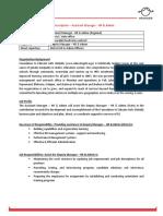 Job Description - Assistant Manager - HR  Admin