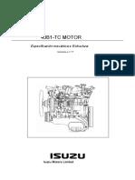 Manual de motor isuzu 4JB1