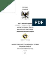 Altimetría-Informe
