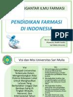 3.PIF_Pendidikan Kefarmasian di Indonesia