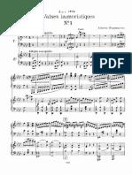 Nepomuceno, Alberto - 6 valsas humorísticas (Arr. para dois pianos de Arthur Napoleão)