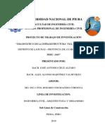 PROYECTO DE INVESTIGACIÓN - DIAGNOSTICO VIAL DEL DISTRITO DE LAGUNAS
