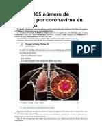 Sube a 305 número de muertos por coronavirus en el mundo