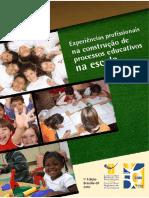 Experiencias profissionais na construcao de processos educativos