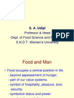Diet and Lifestyles By Dr. Shobha Udipi